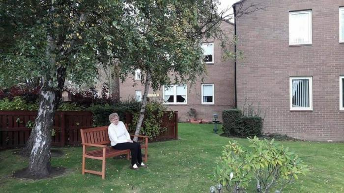 Care tells award winning PR agency od delight from the donation of a bench by a local businessman