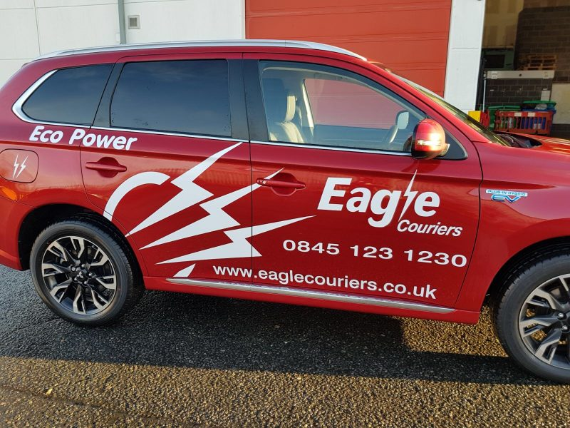 Eagle Couriers PR Scotland Business Courier