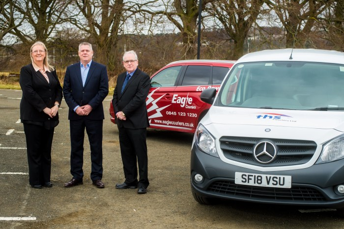 Eagle Couriers THS takeover Scottish B2B PR agency