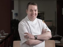Food and drink PR photo of Alan Dickson, Executive Chef at Ten Hill Place