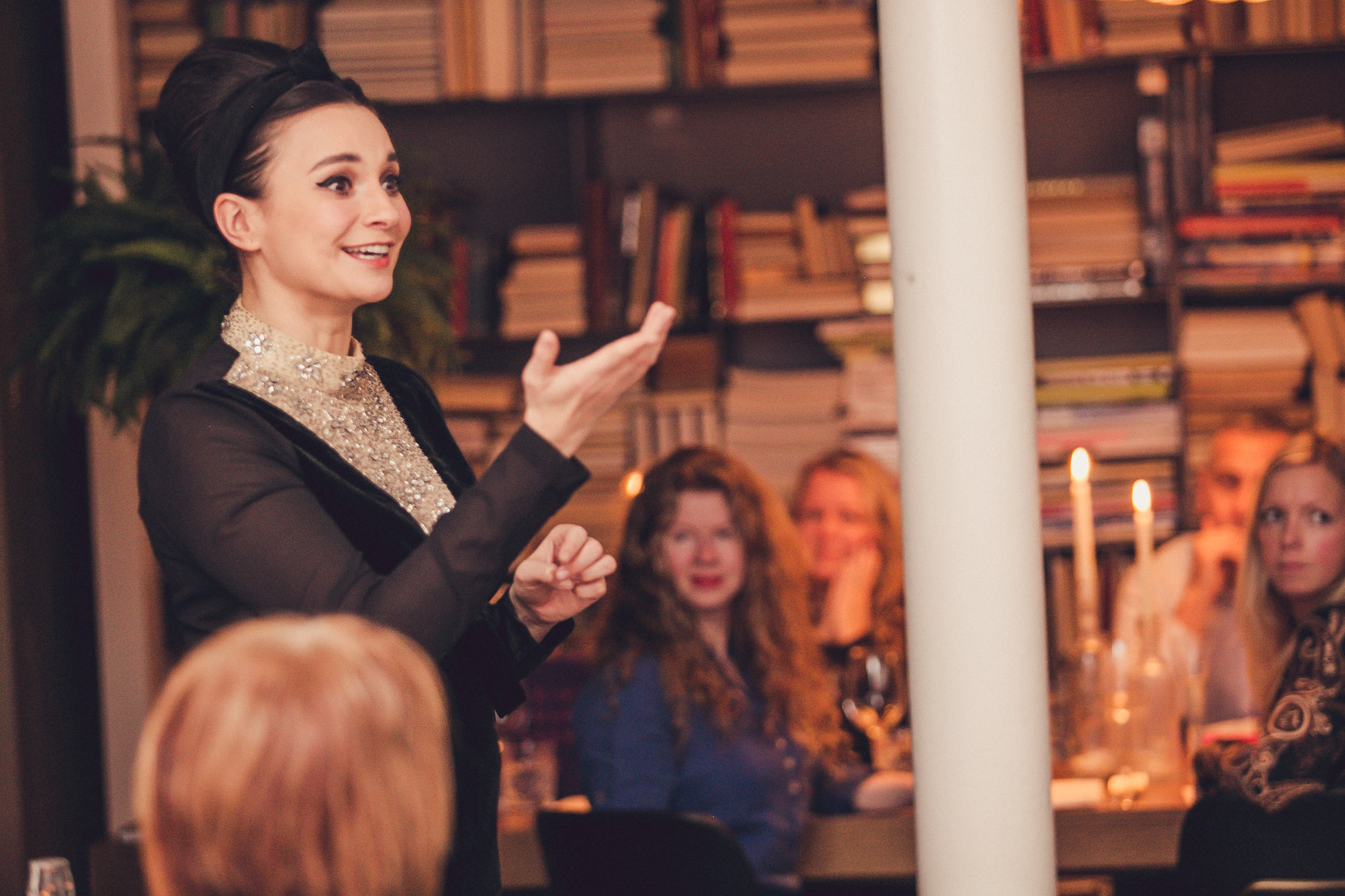 Gizzi Erskine at Tigerlily in Edinburgh, Scotland. Photographed by Scottish food and drink PR experts.