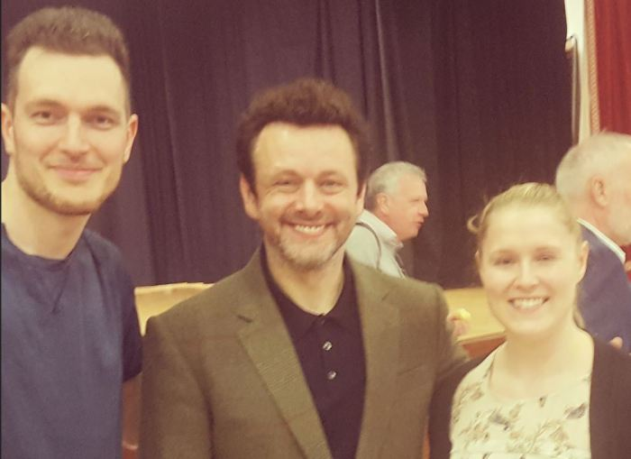 Michael Sheen Castle Community Bank Katie Hogg Seb Regnier Successful PR campaign