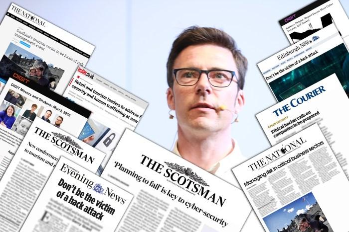 April PR Success for Scottish Business Resilience Centre