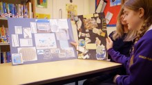 A pupil from West Barns Primary School has seen her winning mood board transformed into the bedroom of her dreams. Story by Scottish PR Agency.
