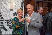 Hotel PR photograph of May MacDonald and Ernst Kallus in Tigerlily, Edinburgh