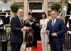 Edinburgh boutique hotel relaunches with PR photography