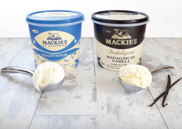 Scottish PR shares clients Mackie's of Scotland breaking record summer sales for luxury ice cream brand as it distributes to the UK and worldwide.