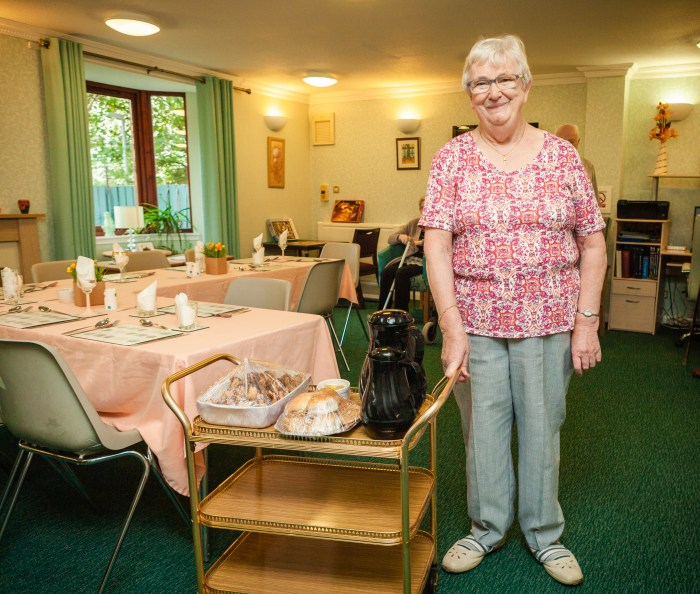 Scottish PR promotes the story of Dunfermline volunteer, Betty Morrison, who has been volunteering and serving up a smile  for over a decade.