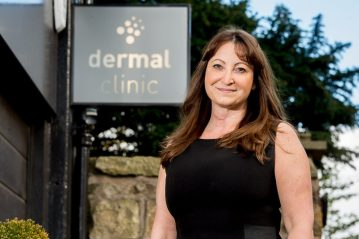 PR photo of Dermal Clinic founder for hair and beauty PR