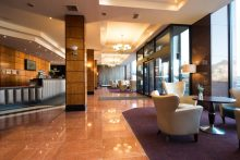 PR photo of Jury's Inn, Edinburgh. The hotel chain works with public relations agency Holyrood PR