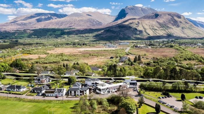 Drone filming Scotland Ben Nevis