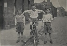 """Photograph of Bield tenant Alex Wilson from """"Remembering the Fifties"""" Memory Book 