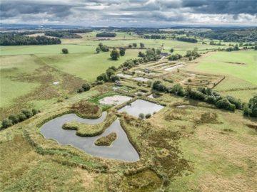 Property PR photograph of Bell Ingram's historic Howietoun Fishery property on sale