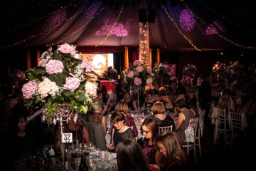 """Charity PR photography of """"Girly Get Together"""" fundraising event for Edinburgh Children's Hospital Charity"""