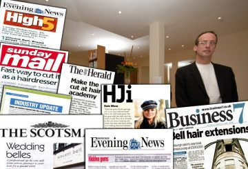 Vincent Bell enjoys an impressive haul of coverage with Hair and Beauty PR