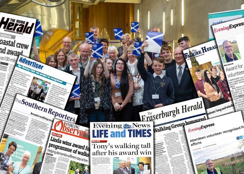 Charity walks its way to media success : Holyrood PR
