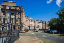 Property PR photograph of Moray Place in Edinburgh - inspiration to CALA Homes' The Crescent development