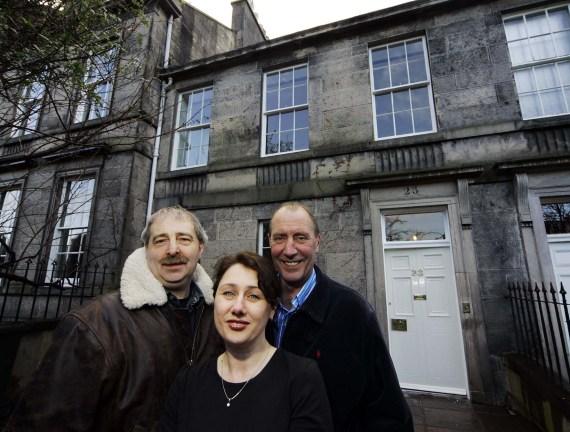 Property PR photography of Ann Street in Edinburgh, Scotland