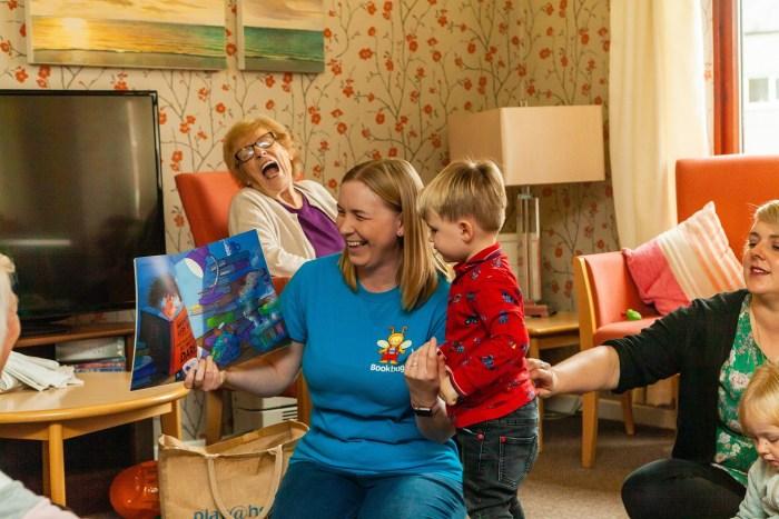 Charity PR Bield tenants take part in Fife Bookbugs