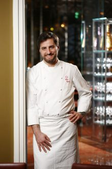 Food and Drink PR photograph of Michelin-star chef Felice Sgarra