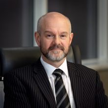 Gary Richie is reappointed to SBRC as Head of Retail and Tourism Resilience, pictured in a tech PR photo shared by Edinburgh PR agency