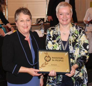 Charity PR experts help to tell story of Blackwood's award success