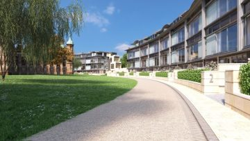 Property PR photography of exclusive new show apartments at CALA The Crescent