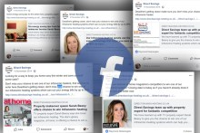 Digital PR campaign for Direct Savings - Facebook montage