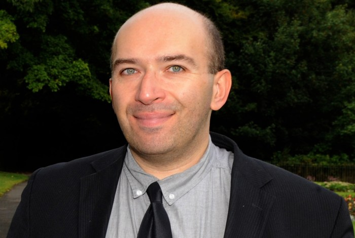PR portrait photograph of Kenny Smith, the web editor at the Scottish Field Magazine smiling