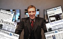 Fraser Suites concierge, Rudy Crane, secures hotel PR headlines as shown in this montage by public relations experts a Holyrood PR