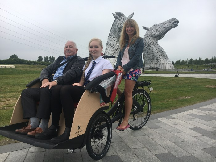 Cycling Without Age in Perth is supported by Bield tenant Norman Ridley   Charity PR