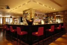 The main bar in Tigerlily Edinburgh captured in successful bar and restaurant PR photography