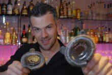 Hotel PR photography of Tigerlily hotel mixologist, Sam Kershaw