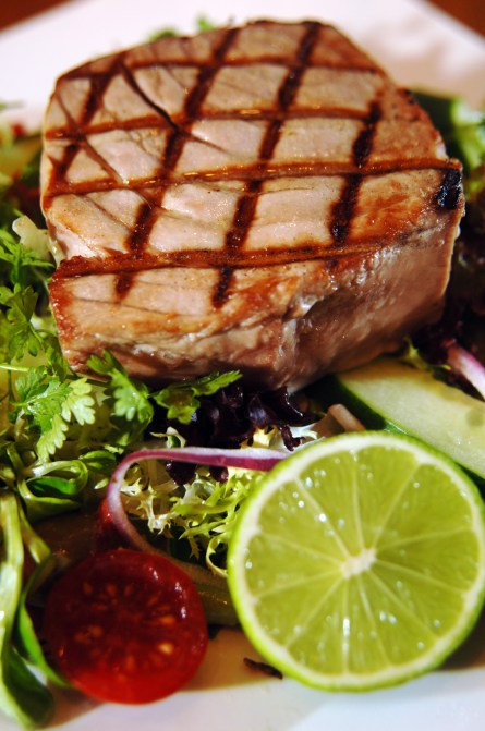 Food and drink PR photography for Tigerlily - House tuna salad