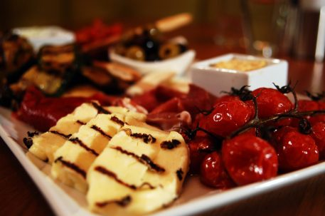 Food and drink PR for Tigerlily - Mediterranean sharing platter