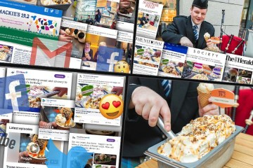 Digital PR agency shares the success of Mackie's haggis ice cream in a compilation of montages