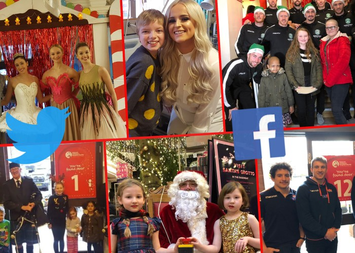 Charity PR experts at Holyrood PR shared ECHC's Christmas Advent Calendar Doors campaign far and wide