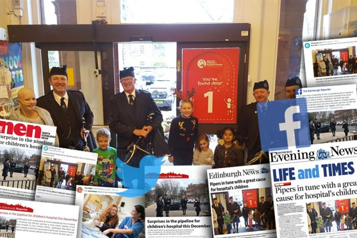 Holyrood PR's expert Charity PR team ensured great coverage across the media for the Advent Calendar Doors Campaign