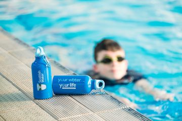 Scottish Swimming supports Scottish Water's Your Water Your Life campaign. Public sector PR