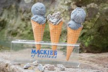 Mackie's latest limited edition ice cream, Granite Noir, is shared by food and drink PR agency Holyrood PR