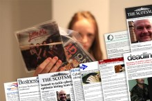 A series of media cuttings celebrate coverage acheived for the launch of Scotland's first e-crime summit