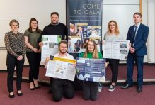 CALA teamed up with Heriot Watt to pilot a new program where the students work to design a home of the future.