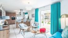 Eagle Green - Property PR photography of CALA Homes' development in Broomieknowe