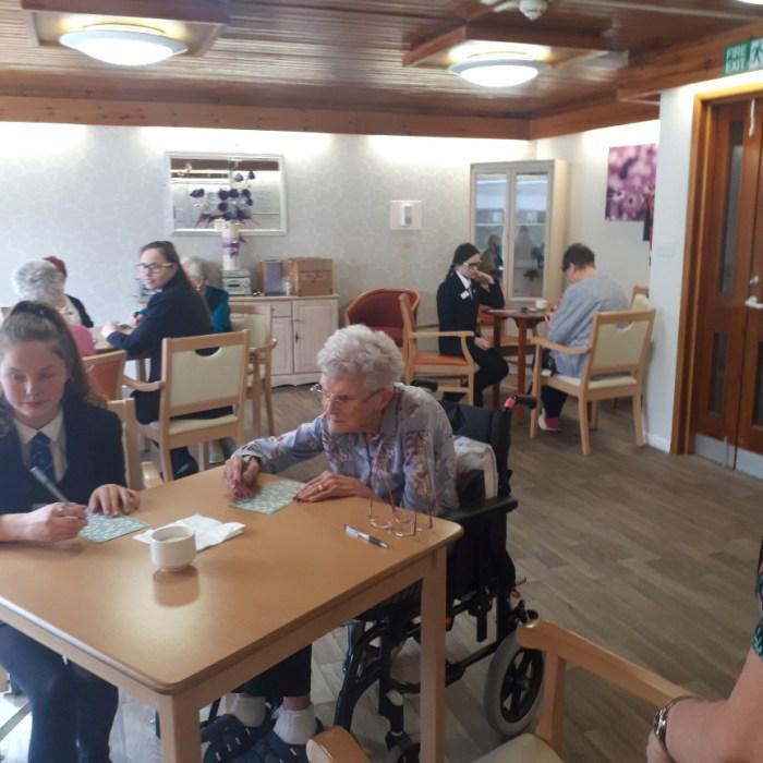 Coxton Gardens teams up for DoE Award   Charity PR
