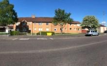 Bield's Carntyne Square development in a charity PR image