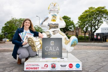 CALA Homes helps to launch Oor Wullie's BIG Bucket Trail | Property PR