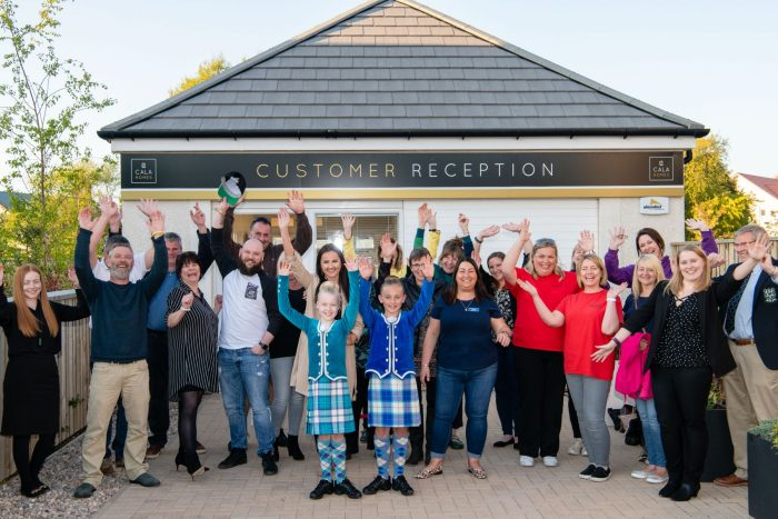 CALA Homes (East) to present cheques to East Lothian | Scottish PR