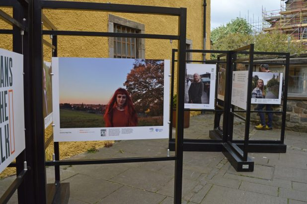 The launch of Humans of the Walk outdoors photography exhibition