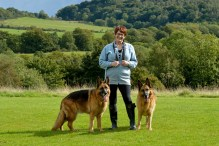 PR photograph of Elaine as part of Humans of the Walk campaign
