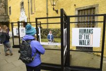 Humans of the Walk photography exhibition by Paths for All captured in PR photography